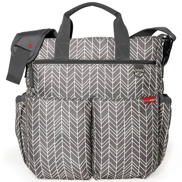 Skip Hop Duo Signature Messenger Diaper Bag for $32.47