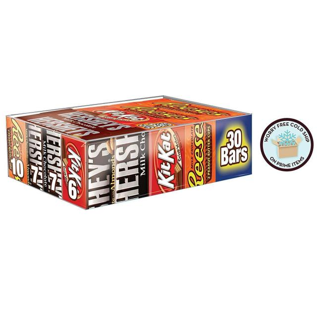 Hersheys Chocolate Candy Bar Variety Pack for $13.99