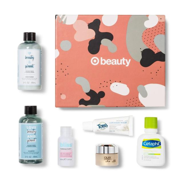 6-Piece Target October Beauty Box for $7