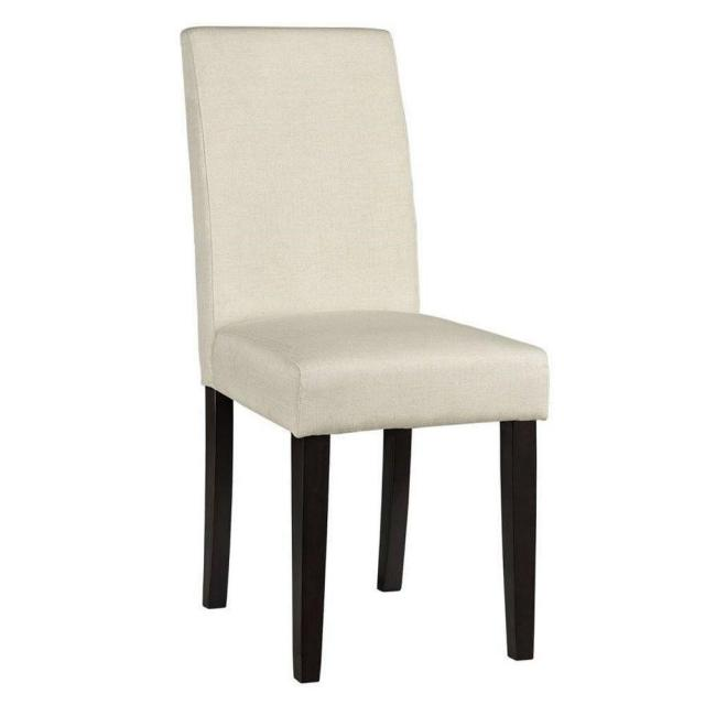 Home Decorators Collection Parsons Linen Side Chair for $46