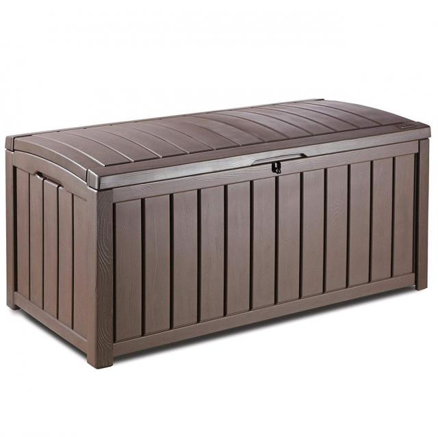 101 Gallon Keter Glenwood Plastic Outdoor Storage Box for $69.74