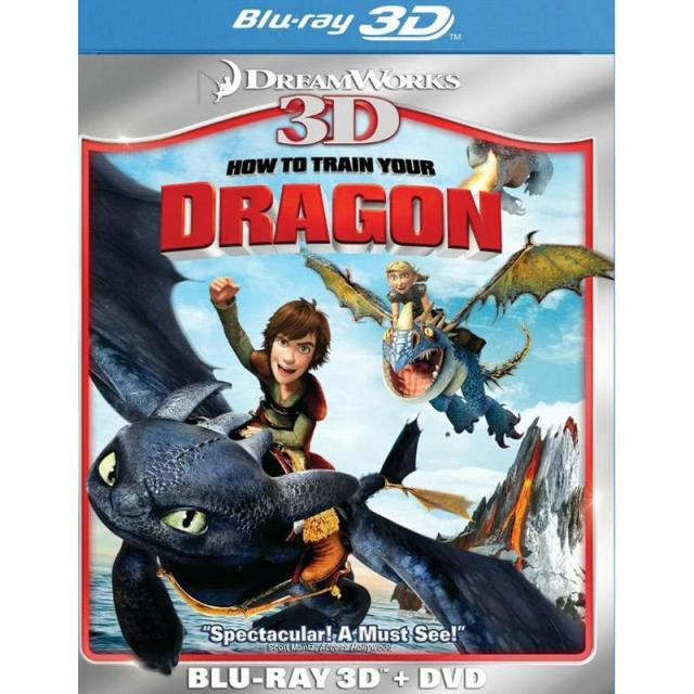 How To Train Your Dragon 3D Blu-ray for $3.99