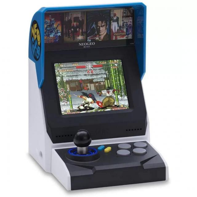Neogeo Mini International Arcade System with 40 Games for $69.99