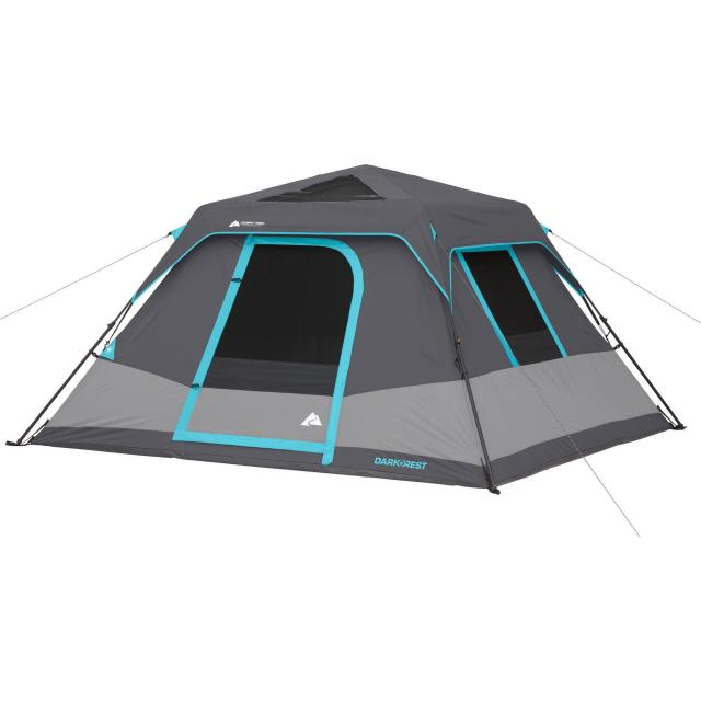 Ozark Trail 6-Person 10x9 Dark Rest Instant Cabin Tent for $59
