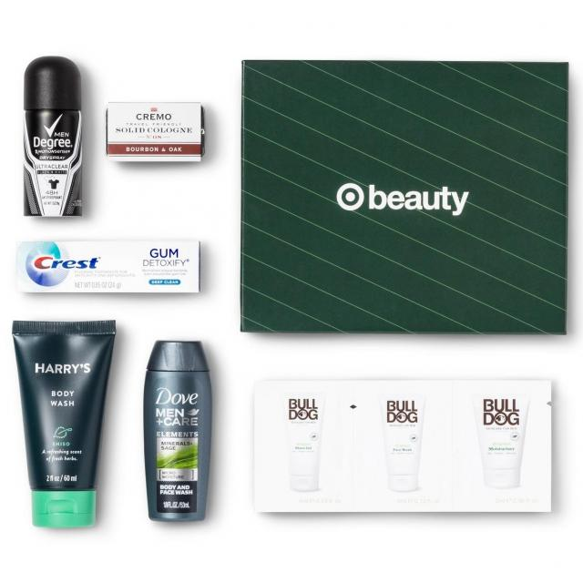 Target Holiday Beauty Box for $5