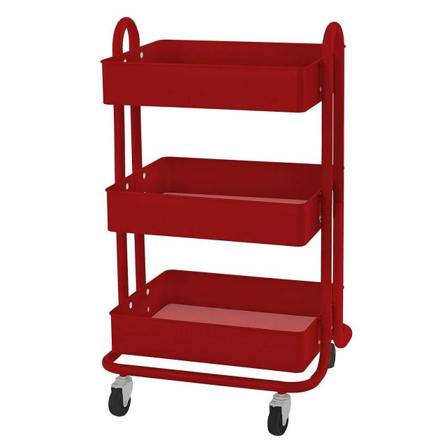3-Tier Metal Rolling Utility Cart for $37.49