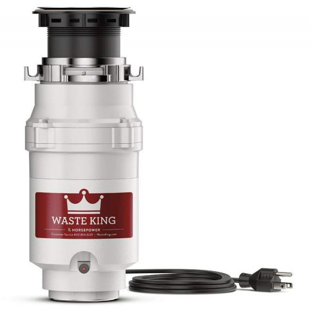 Waste King 1/2 HP Continuous-Feed Garbage Disposal for $46.97