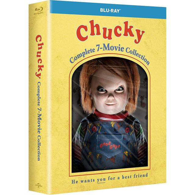 Chucky Complete 7-Movie Collection Blu-ray for $24.99