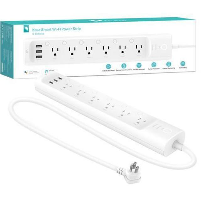 TP-Link HS300 6-Outlet Kasa Smart WiFi Power Surge Strip for $54.99