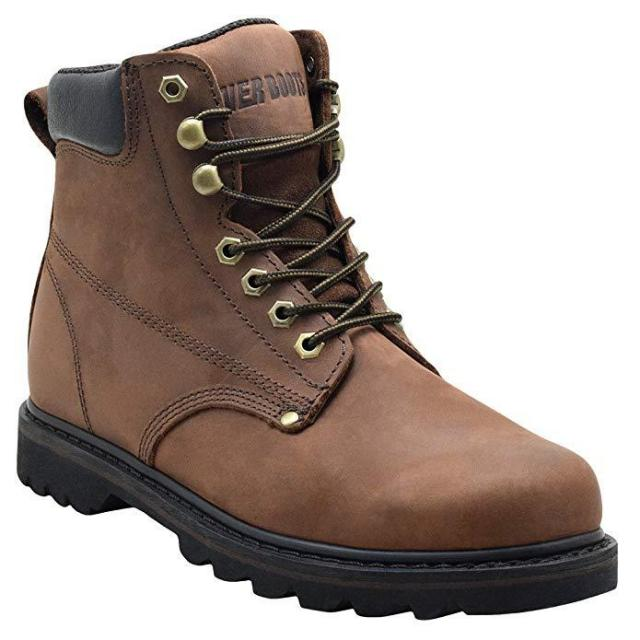 Ever Boots Mens Leather Work Boots for $44.75
