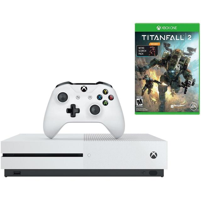 1TB Microsoft Xbox One S Console with Titanfall 2 for $184.99