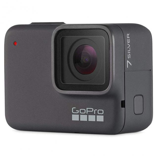 GoPro HERO7 Silver 4K Action Camera for $199