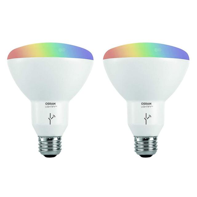 2x 65W Equivalent Sylvania Osram Lightify Smart LED Light Bulbs for $19.99