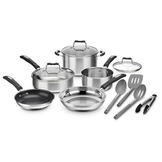 12-Piece Cuisinart Cookware Sets for $59.49