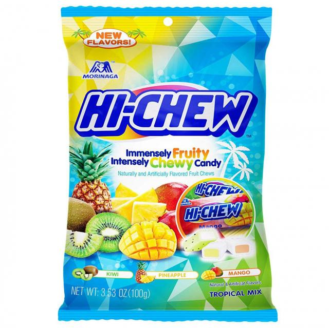 6 Pack of Hi-Chew Sensationally Chewy Japanese Fruit Candies for $9.88