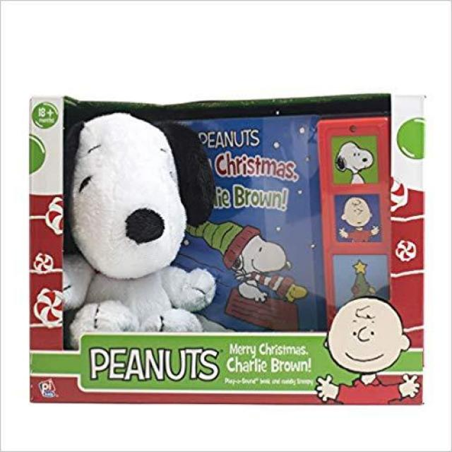 Peanuts Merry Christmas Charlie Brown Board Book for $3.74