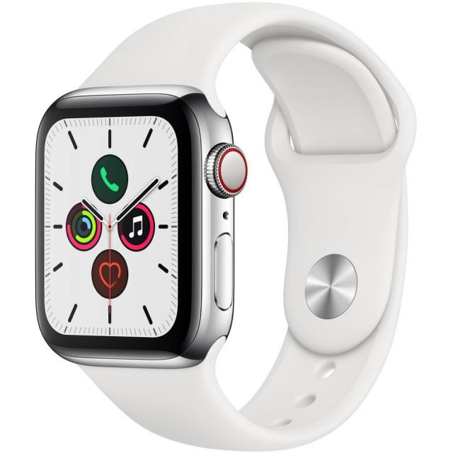 Apple Watch Series 5 40mm Cell Stainless Steel Smartwatch for $649
