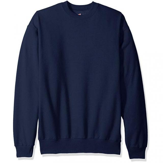 Hanes Mens Ecosmart Fleece Sweatshirt for $5.81