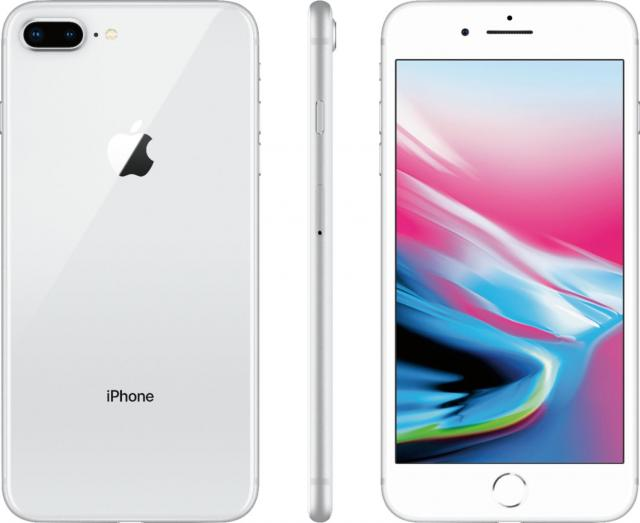Apple iPhone 8 Plus 64GB Smartphone with 3GB Plan for $299.99