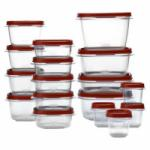 34-Piece Rubbermaid Easy Find Lids Set for $12