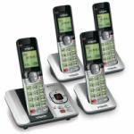 VTech CS6529-4 DECT 6.0 Phone Answering System with 4 Handsets for $48.80 Shipped