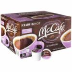 84 McCafe French Roast Dark Premium K-Cup Coffee Pods for $26.17 Shipped