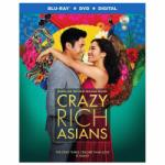 Crazy Rich Asians Blu-ray + DVD + Digital HD for $9.99 Shipped