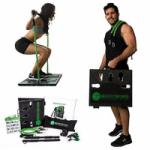 BodyBoss Home Gym Full Portable Home Workout Gym for $129.99 Shipped