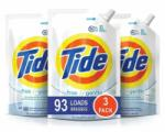 3x Tide Free and Gentle HE Laundry Detergent for $14.99 Shipped