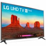 70in LG 70UK6570PUB 4K HDR Smart TV with $200 Gift Card for $899 Shipped