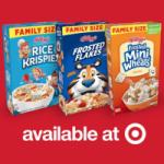 Free $10 eMovie Ticket Credit for Buying 3 Kelloggs Cereals