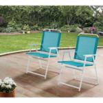 2x Mainstays Pleasant Grove Sling Folding Chair for $36.97 Shipped
