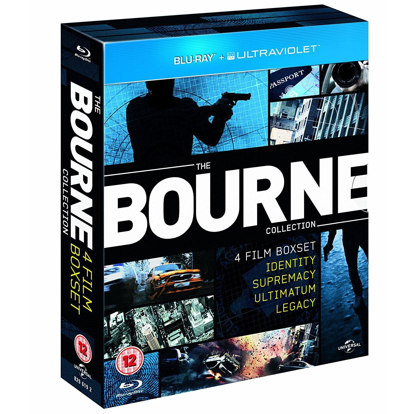 Ultimate Bourne Collection Blu-Ray