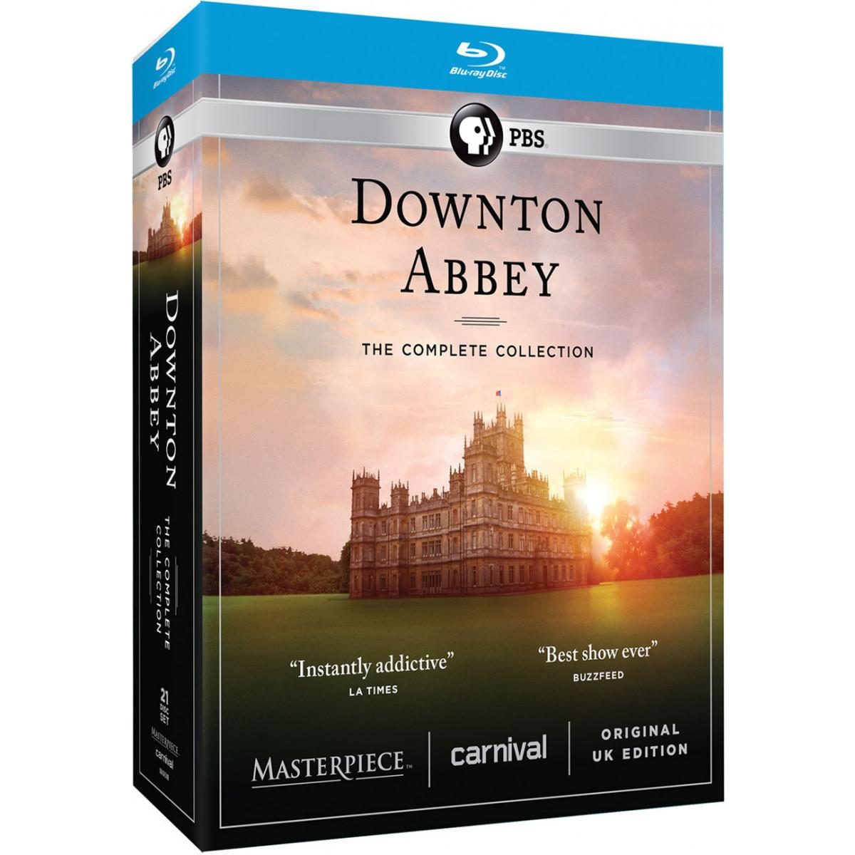 Downton Abbey Complete Collection Blu-ray