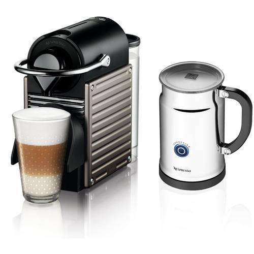 Nespresso Pixie Espresso Maker + Frother