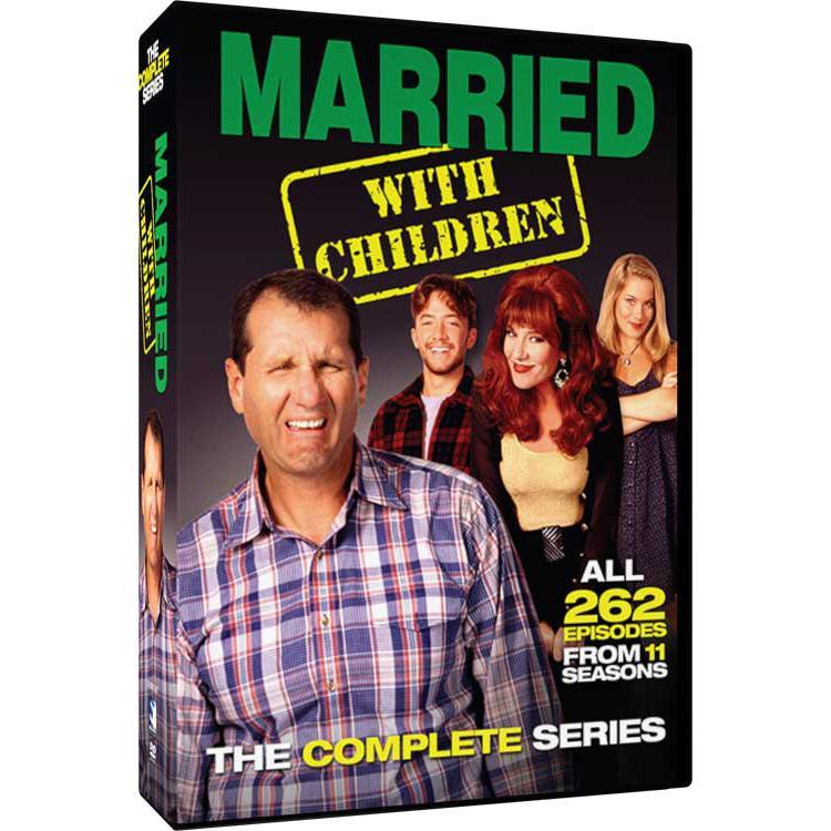Married With Children 21-Disc DVD Set