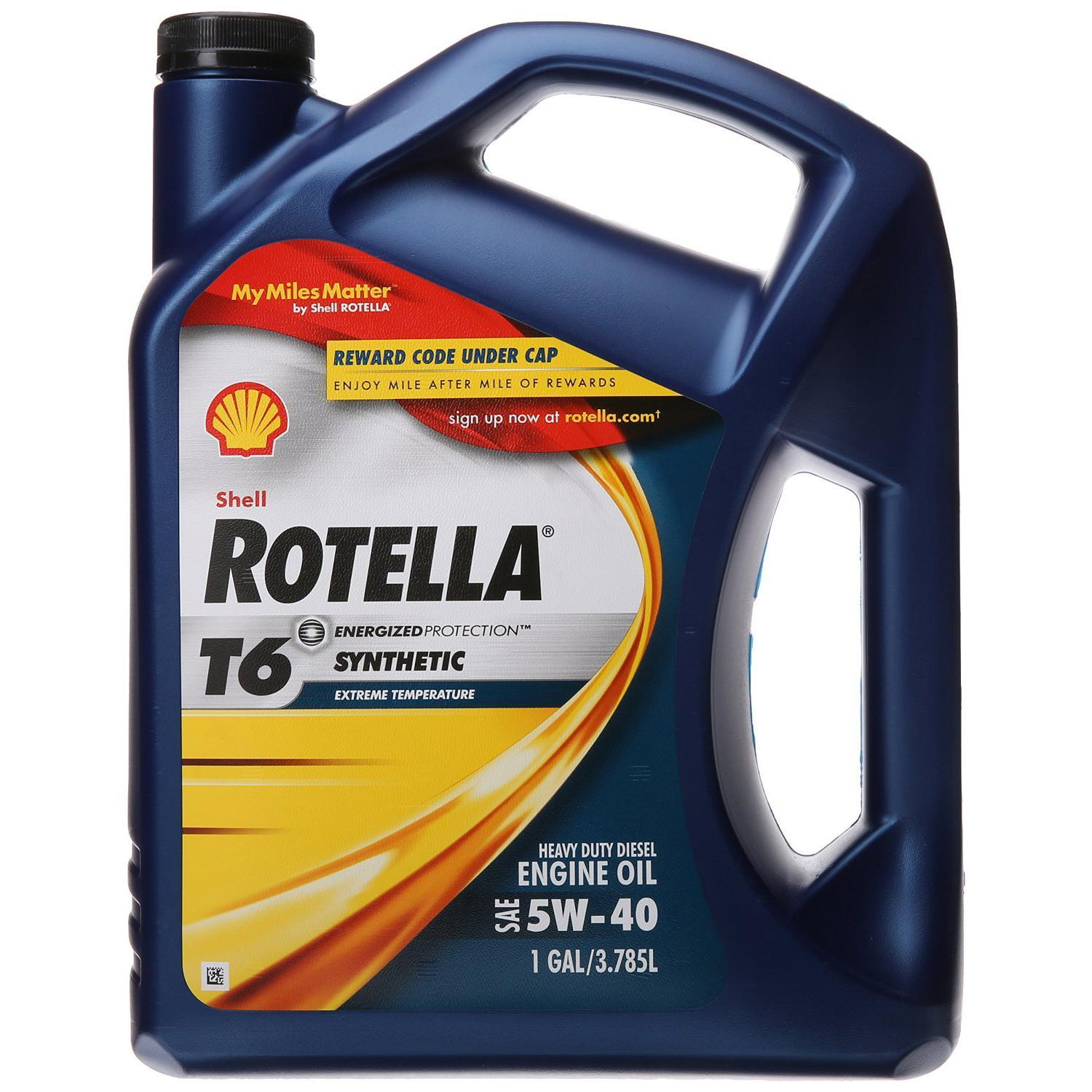 Shell rotella t6 5w 40 full synthetic motor oil best price Best price on motor oil
