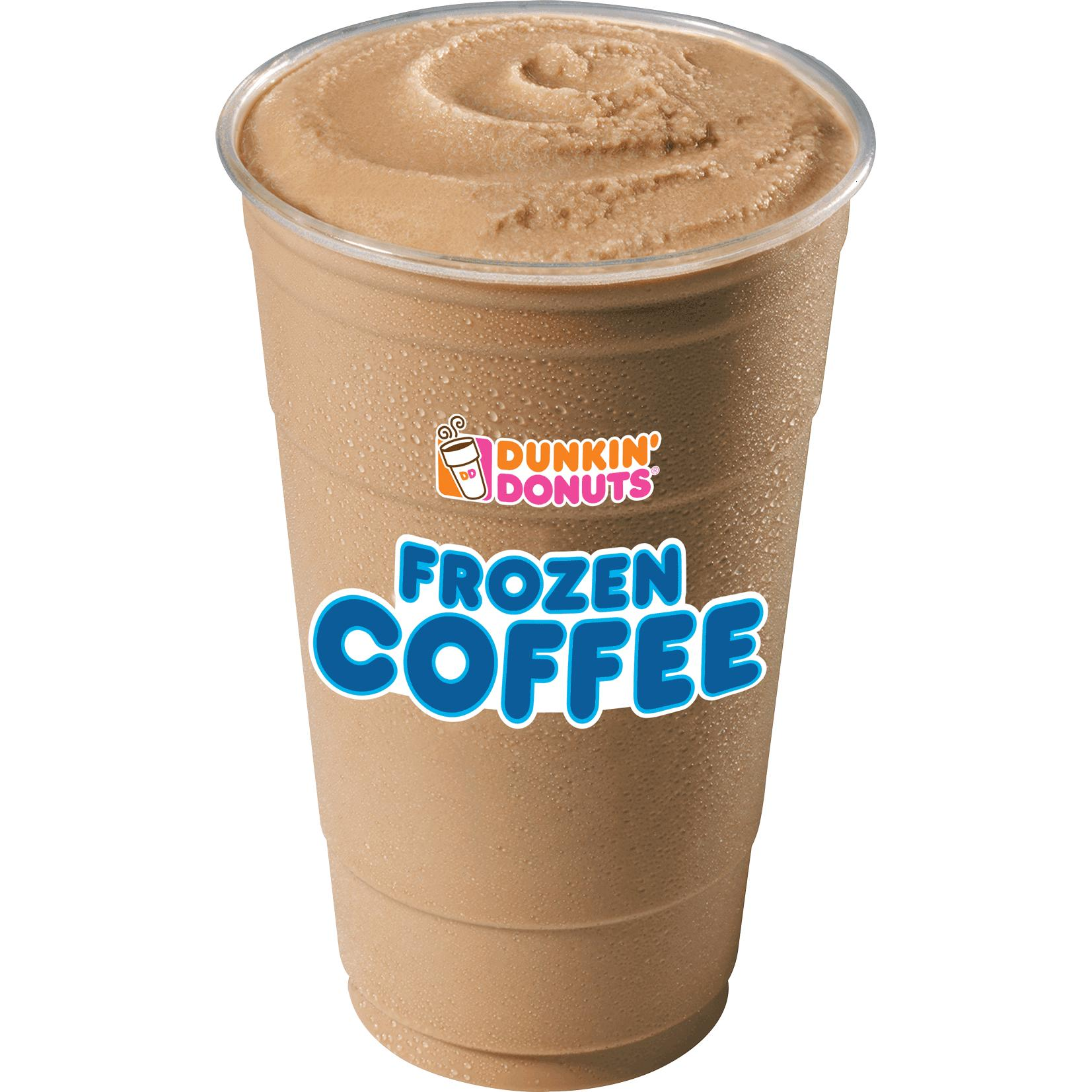 Free Frozen Dunkin Donuts Coffee 10am to 2pm