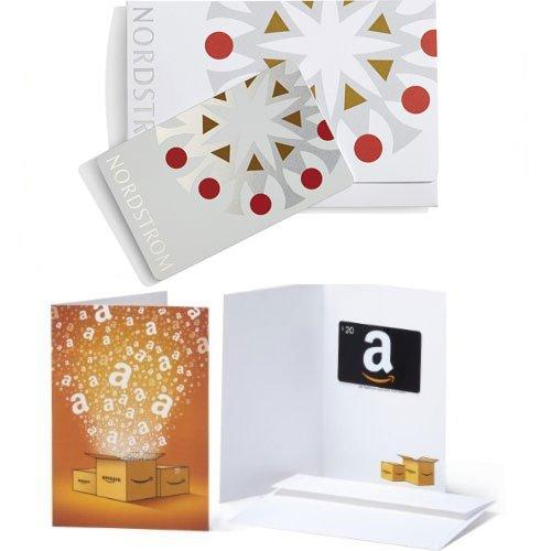 Nordstrom Gift Card + Amazon Gift Card