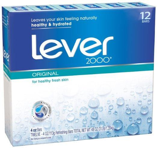 12 Lever 2000 Bar Soaps