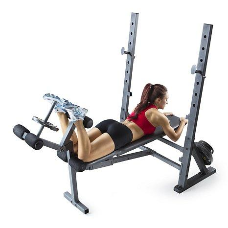 Golds Gym Xr 10 Olympic Weight Bench For 94 66 Shipped