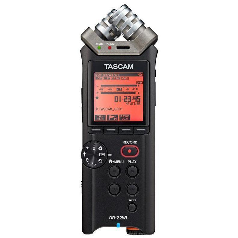 Tascam 2CH Portable Handheld Audio Recorder