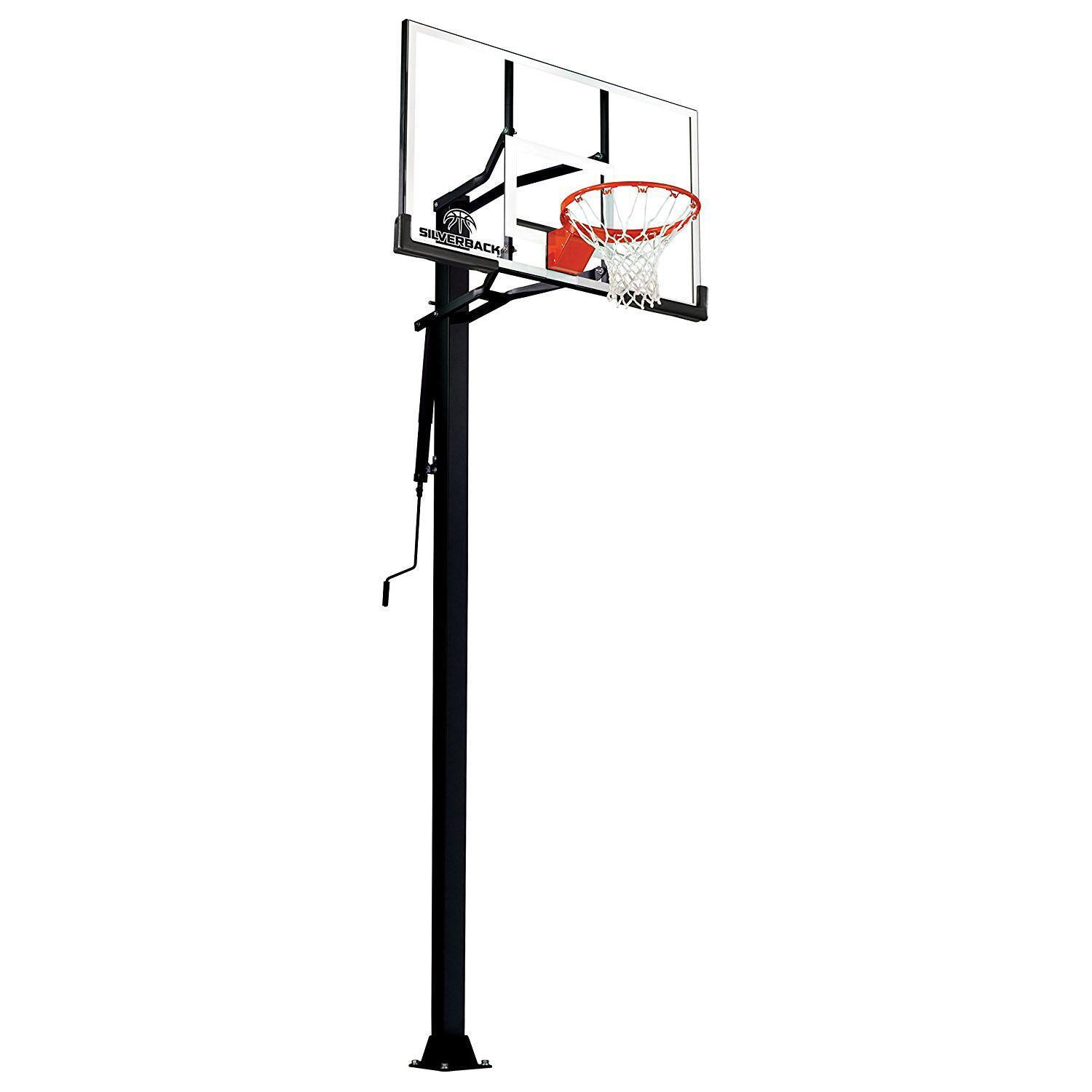 Silverback 60in In-Ground Basketball System