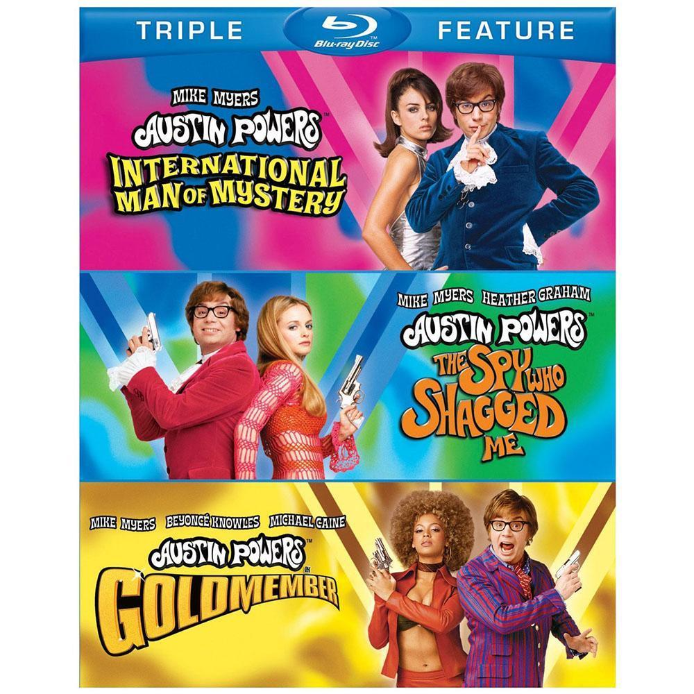 Austin Powers Triple Feature Blu-ray