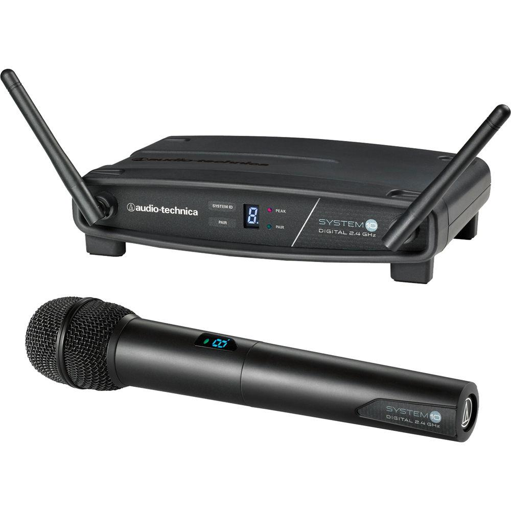 Audio-Technica ATW-1102 System 10 Wireless Microphone System