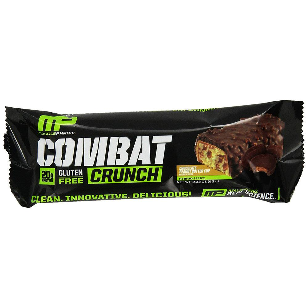 12 Muscle Pharm Combat Crunch Bars