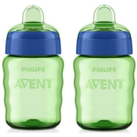 2 Philips Avent My Easy Sippy Spout Cups