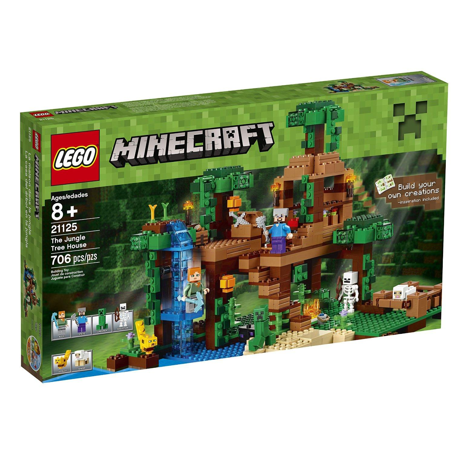 Lego Minecraft Jungle Tree House