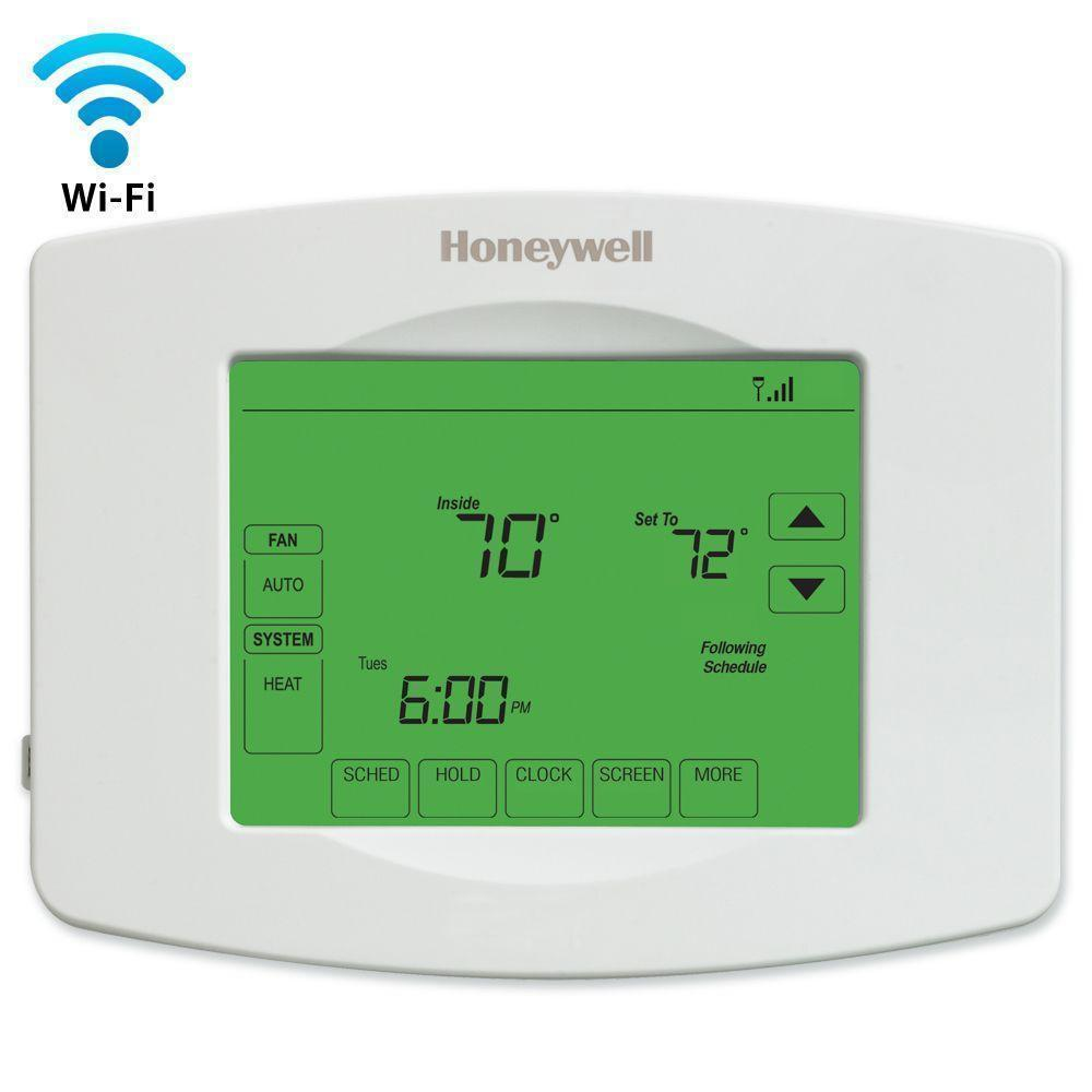 Honeywell Wifi Programmable Touchscreen Thermostat