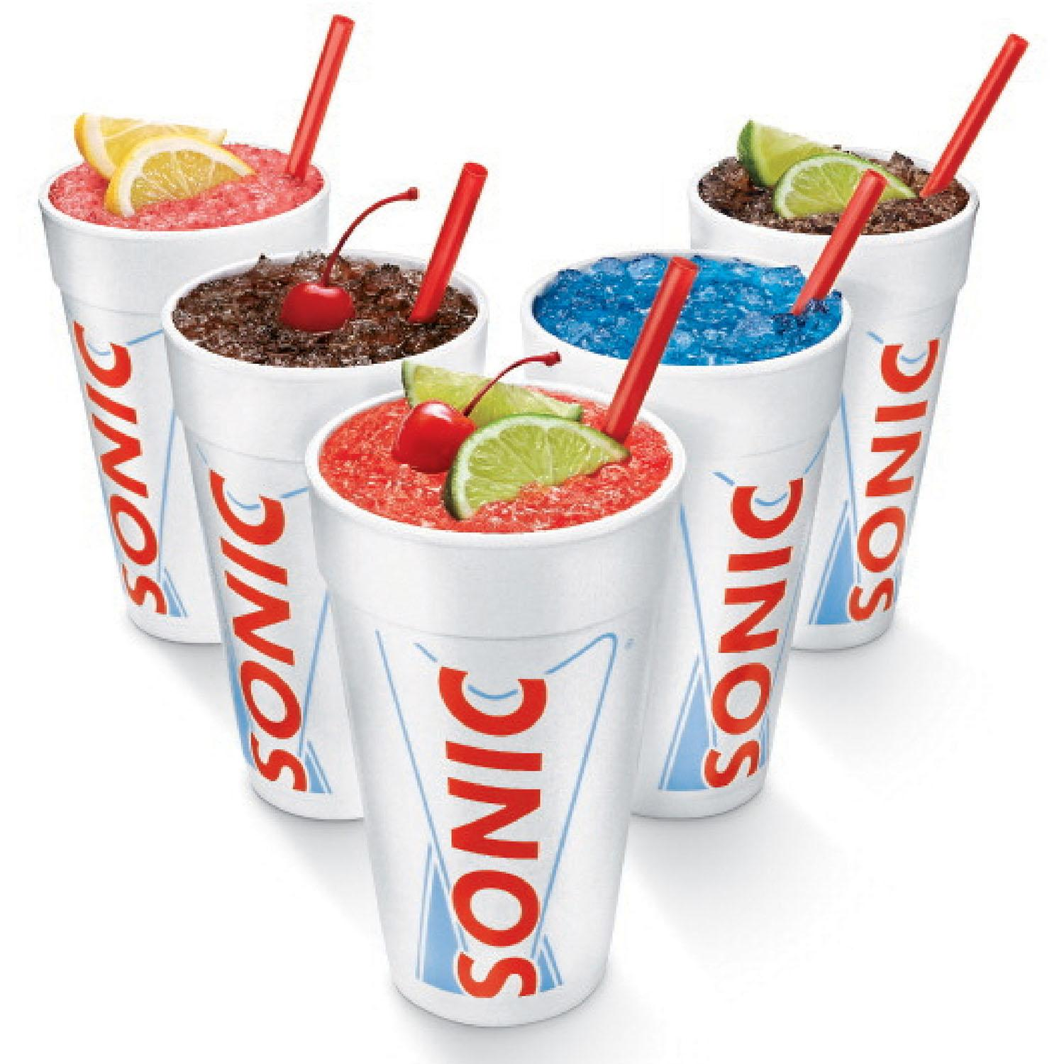 Free Sonic Slush When You Download Their App
